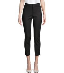 powerstretch tapered crop trousers