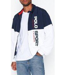polo ralph lauren classic lined jacket jackor navy/white