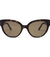 balenciaga balenciaga bb0050s havana sunglasses