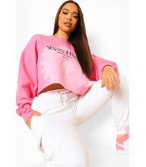korte tie dye ye saint west sweater, pink