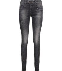 black denim stonewash jeans objup object