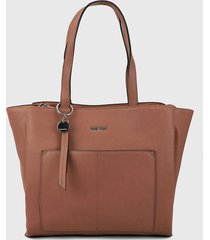 bolso café nine west