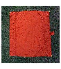 parachute beach blanket, 'sanur orange' (indonesia)