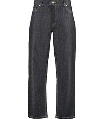 maison kitsuné loose-fit jeans