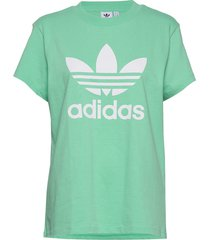 boyfriend tee t-shirts & tops short-sleeved grön adidas originals