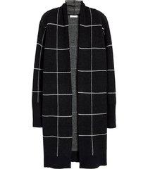 women's leith cozy long cardigan, size xx-small - black