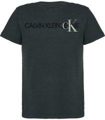 tshirt mc rolo silk logo + ck - verde militar - 6