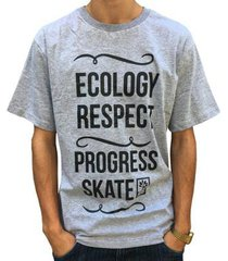 camiseta pgs ecology respect masculina