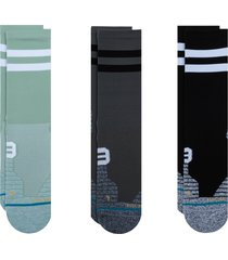 stance franchise assorted 3-pack crew socks, size medium in multi at nordstrom