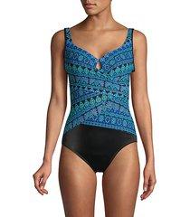 gypsy underwire one-piece swimsuit