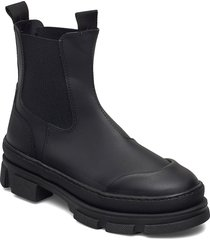 wave shoes boots ankle boots ankle boot - flat svart pavement