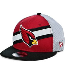 new era arizona cardinals diagonal trucker 9fifty cap