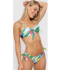 bikini multicolor reef