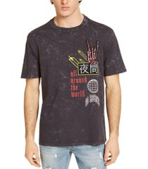 guess men's all around the world t-shirt