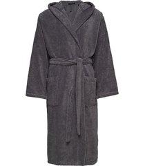 bath robe morgonrock badrock grå schiesser