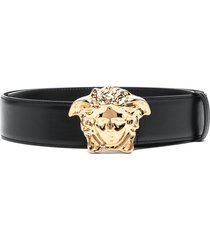 versace medusa palazzo belt - black