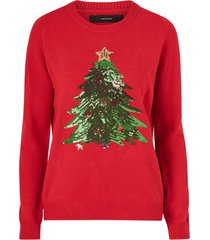 jultröja vmshiny christmas tree ls blouse