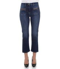 7/8 jeans elisabetta franchi pj17s16e2
