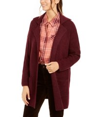 style & co open-front topper jacket, created for macy's