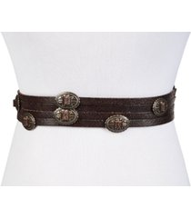 frye and co concho swag leather waist belt