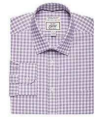 1905 collection extreme slim fit spread collar check dress shirt, by jos. a. bank