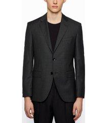 boss men's micro-pattern regular-fit jacket