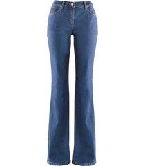 jeans elasticizzato bootcut (blu) - john baner jeanswear