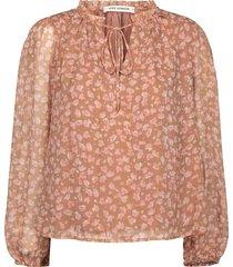 blouse met bloemenprint vilma  roze