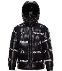 7 moncler fragment hiroshi fujiwara black mayconne bomber jacket
