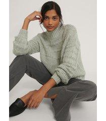 na-kd chunky tröja - grey