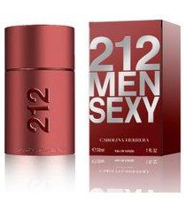 perfume carolina herrera 212 sexy men masculino eau de toilette 30ml