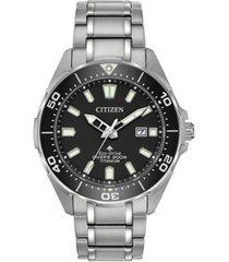 citizen eco-drive men's promaster diver super titanium bracelet watch 44mm