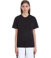 alexander wang foundation jsy t-shirt in black cotton