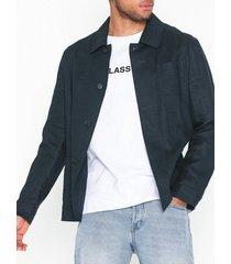 selected homme slhslim-summer blazer b jackor mörk blå