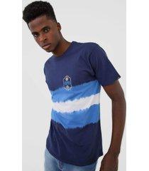 camiseta vans funeral march ss tie dye azul
