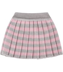 little bear grey and pink skirt for babygirl