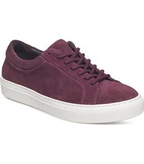 elpique suede shoe låga sneakers lila royal republiq