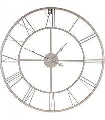 zegar metalowy szampański