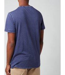 polo ralph lauren men's custom slim fit jersey pocket t-shirt - cruise navy - xl