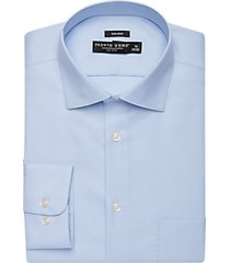 pronto uomo big and tall light blue queens oxford classic fit dress shirt