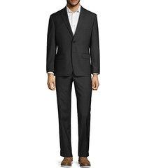 2-piece extra slim fit tonal stripe wool suit