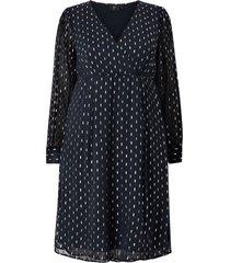 klänning ygeneive l/s blk dress