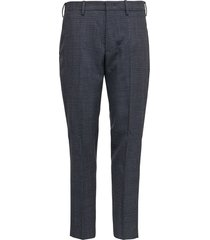 pt01 grey tailored pants in organic wool