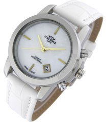 reloj blanco gold montreal