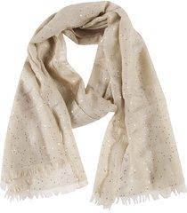 brunello cucinelli sequin detailed scarf