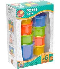 brinquedo potes & cia - grow