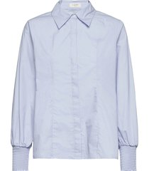 lola shirt overhemd met lange mouwen blauw norr
