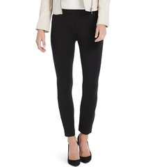 women's spanx the perfect black pants - back seam skinny pants