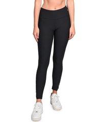 90 degree by reflex women's crochet leggings - black - size m