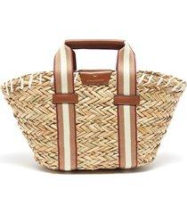 'walton' small natural seagrass woven basket